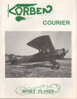 Corben Courier Homebuilt Newsletter - 1985