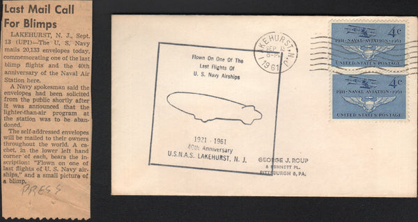 Flown Envelope - Last Flight of USN Airships