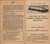 Facts About...Akron Goodyear-Zeppelin Airship Dock - 1931