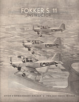 "Fokker S.11/S.12 ""Instructor"" Brochure - 1951"