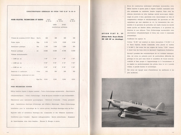 Avions et Moteurs Italiens (Italian Aircraft and Engines) - 1949