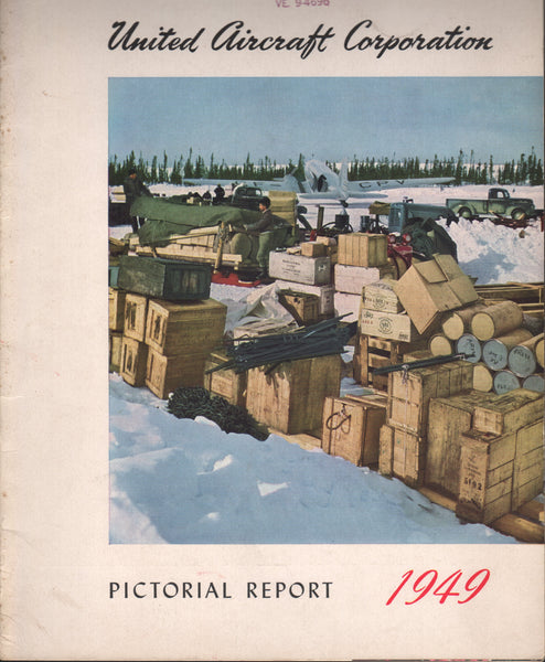 United Aircraft Corporation Pictorial Report - 1949