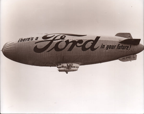 Ford Airship Photo - circa 1940