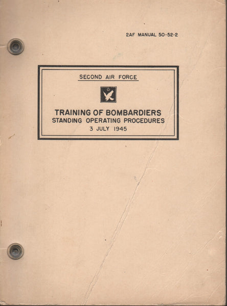 B-29 Bombadier Training Manual - 1945
