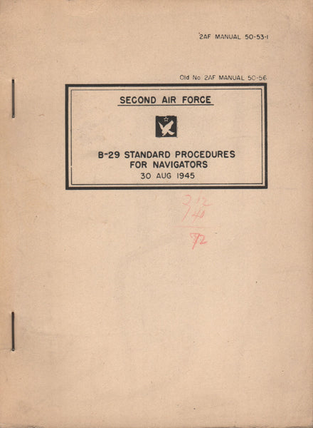 B-29 Navigators Manual - 1945