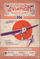 Sportsman Aviation and Modelplanes - 1934