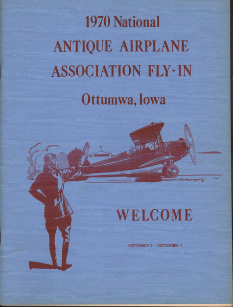 1970 National Antique Airplane Assoc Fly-In Program