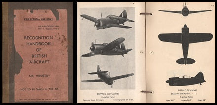 WWII Recognition Handbook of British Aircraft - 1942