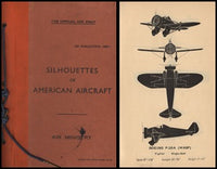 "WWII R.A.F. Handbook ""Silhouettes of American Aircraft"" -  1939"