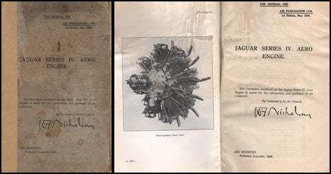 RAF Jaguar Series IV Aero Engine Manual - 1926