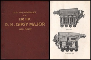 De Havilland Gypsy Major 130 H.P. Engine Manual - 1932