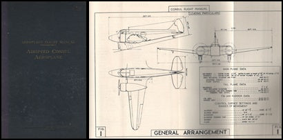 "RAF Flight Manual ""Airspeed Consul Aeroplane"" - 1947"