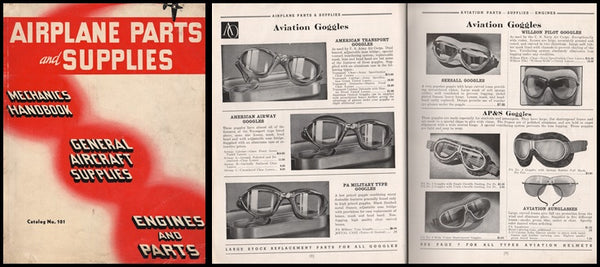 Airplane Parts and Supplies Catalog - 1940