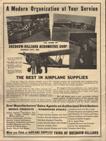 Bredouw - Hilliard Aeromotive Corp., Kansas City, Sales Flyer - circa 1935