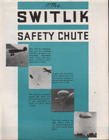 Switlik Safety Chute Flyer - circa 1935