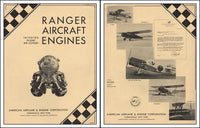 Ranger Aircraft Engine Brochure - 1931