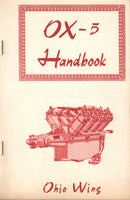 OX-5 Engine Handbook Facsimile Reprint