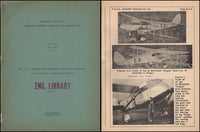 "DeHavilland ""Dragon Moth"" Airplane - NACA Circular No. 174 - 1933"