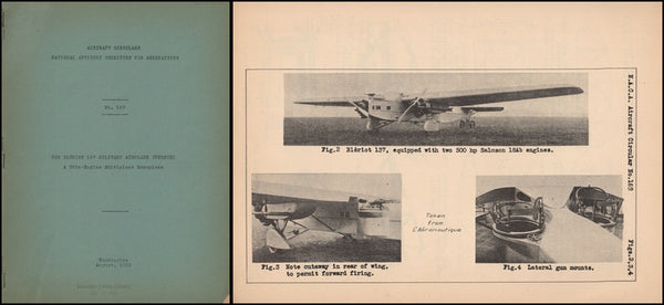 Bleriot 137 French Military Airplane - NACA Circular No. 169 - 1932
