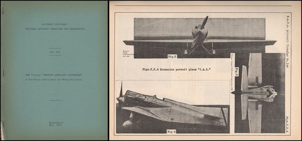 I.A.R. Roumanian Pursuit Airplane - NACA Circular No. 144 - 1931