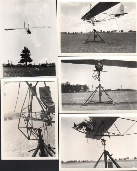 Six Waco Trainer Photos - circa 1935