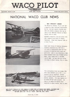 """WACO PILOT"", National Waco Club Newsletter"