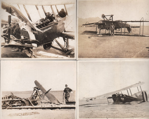 Amazing DH-4 Crash Photo Collection - circa 1920's