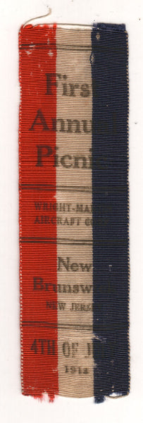 Wright-Martin Ribbon - circa 1916-1918