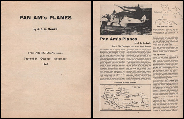 Pan Am's Planes - 1967