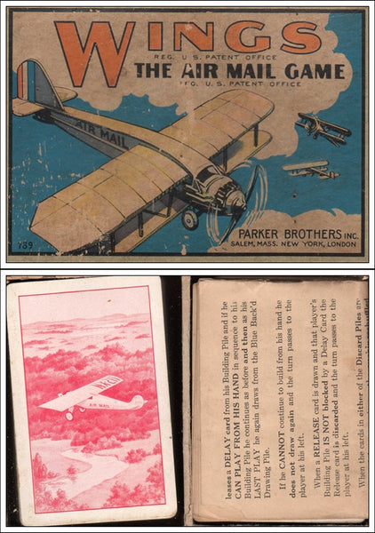 WINGS - The Airmail Game by Parker