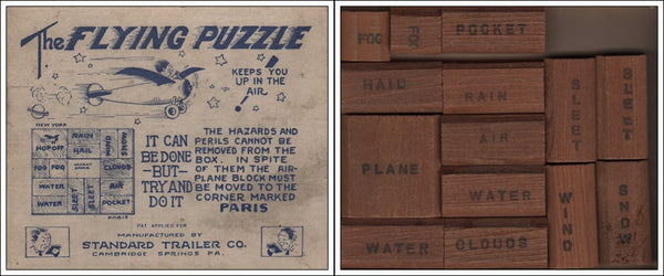 The Flying Puzzle Game - circa 1927