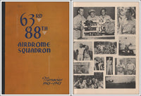 WWII History, 63rd/88th Airdrome Squadron - 1943/45