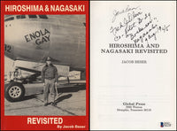 Jacob Beser - Only Crew Member on Enola Gay AND Bockscar - SIGNED