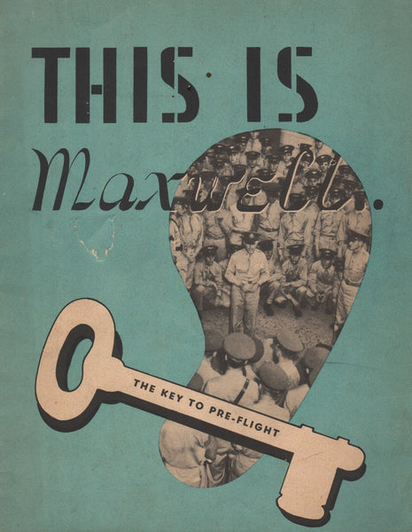 This is Maxwell, A Guide to Pre-Flight -  1944
