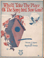 Sheet Music, Bird Theme - 1922