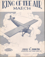 Sheet Music, Monoplane Theme - 1910