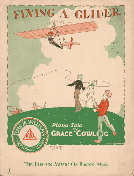 Sheet Music, Glider Theme - 1931