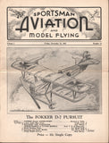 Sportsman Aviation and Mechanics - 5 issues 1933