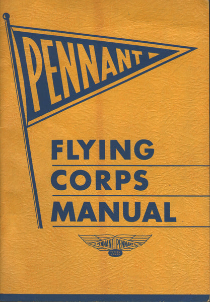 Pennant Flying Corps Manual - 1935