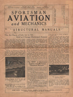 Sportsman Aviation and Mechanics Magazine - Vol 1, Issues 1 & 2, 1933