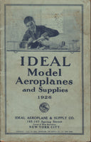 Ideal Model Aeroplanes and Supplies Catalog - 1926