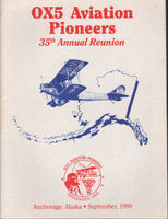 OX5 Aviation Pioneers 35th Annual Reunion Program - 1990