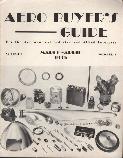 "Aero Buyer's Guide ""Premier"" Issue - 1935"