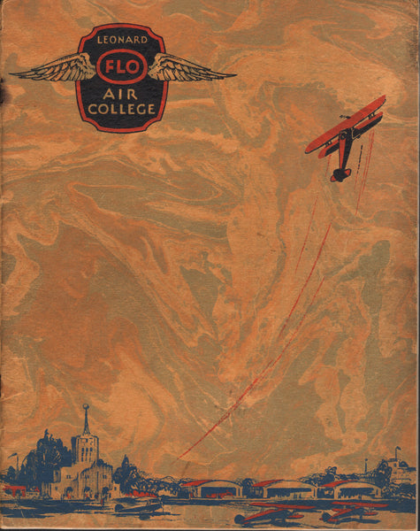Leonard Flo Air College Catalog, Dearborn - 1931