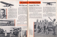 Lincoln Airplane and Flying School Catalog - 1936