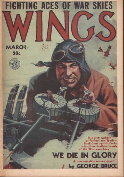 "Wings ""Pulp"" Reprint - 1932/1977"