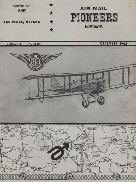 Air Mail Pioneers News, 2 issues - 1962/1969