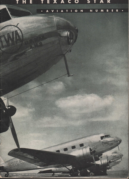 The Texaco Star - Aviation Number - 1937