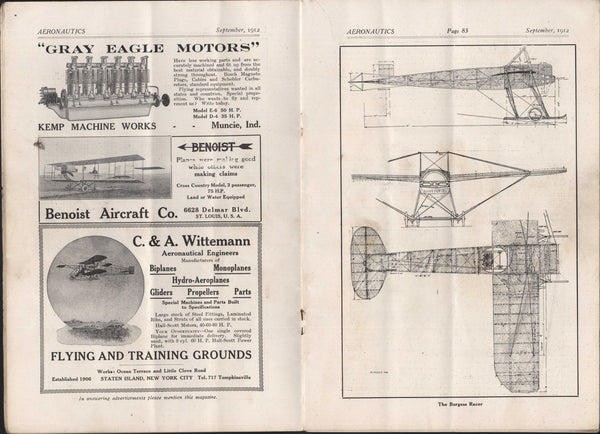 Aeronautics - September 1912