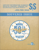 Douglas Aircraft 50th Anniversary of Naval Aviation Souvenir Issue - 1961